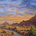 Arroyo Sunset by Thomas Restifo