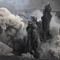 Ash Cloud Eruption On Yasur Volcano by Richard Roscoe