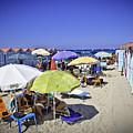 At Mondello Beach - Sicily by Madeline Ellis