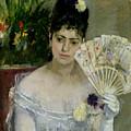 At The Ball by Berthe Morisot