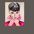 Audrey Hepburn by Valerie Ornstein