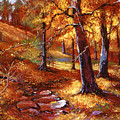 Autumn Color Palette by David Lloyd Glover