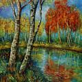 Autumn Day. by Evgenia Davidov
