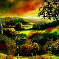 Autumn In Our Village Ardennes by Pol Ledent