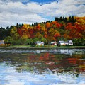 Autumn In Vermont  by Sarah Grangier