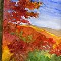 Autumn On The Cherohala Skyway by Lisa Bell