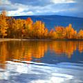 Autumn Reflections At Sunoka by Tara Turner