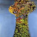 Autumn Through A Bridge by Lisa Gabrius