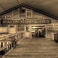 Avalon Fishing Pier by E R Smith
