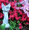 Azalea Garden Angel by Patricia L Davidson