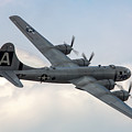 B-29 Superfortress by Bill Lindsay