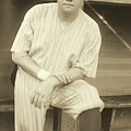 Babe Ruth Posing by Padre Art