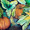 Baby Pumpkins by Patricia Merewether