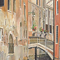 Back Canals Of Venice by P Anthony Visco