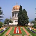 Bahai Gardens by Susan Heller