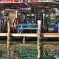 Bait Ice  Beer Shop On Bay by Dan Friend