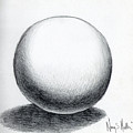 Ball With Shadow by Nancy Mueller