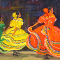 Ballet Folklorico by Bunny Oliver