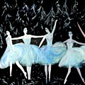 Ballet In Blue by Michela Akers