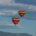 Balloons Over The Rockies by Ernie Echols