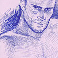 Ballpointpenportrait by Bad Robin
