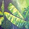 Banan Leaf by Carol P Kingsley