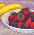 Bananas And Strawberries by Penny Neimiller