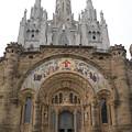 Barcelona - Temple Expiatori Del Sagrat Cor by Michael Piotrowski