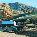 Barn At Blowing Rock by Tommy Midyette