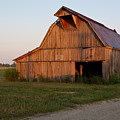 Barn At Early Dawn by Douglas Barnett
