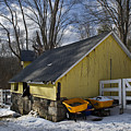 Barn In Winter by Jack Goldberg