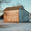 Barn Late Afternoon by David Arment