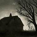 Barn Sillouette by Bryan Baumeister