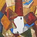 barnegat lighthouse I by Miroslaw  Chelchowski