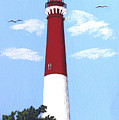 Barnegat Lighthouse Painting by Frederic Kohli
