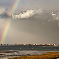 Barnstable Harbor Rainbow by Charles Harden