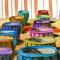 Barrels Of Color by Vic Delnore