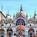 Basilica Di San Marco by Sarah E Ethridge
