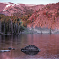 Basin Lake Sunrise 2 by Leland D Howard