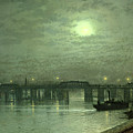 Battersea Bridge By Moonlight by John Atkinson Grimshaw