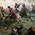 Battle Of Waterloo by William Holmes Sullivan