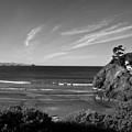 Battle Rock Beach Oregon by Lee Santa