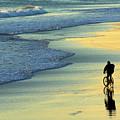 Beach Biker by Carlos Caetano