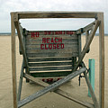Beach Closed by Mary Haber