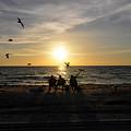 Beach Family by David Lee Thompson