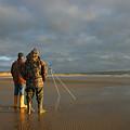 Beach Fishing by Mike Bambridge