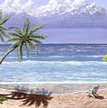 Beach House by Don Lindemann