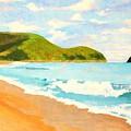 Beach In Brazil by Flavia Lundgren