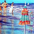 Beach Quintessentials-the Digitals by Ruth Bodycott
