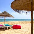 Beach Relaxing by Carlos Caetano